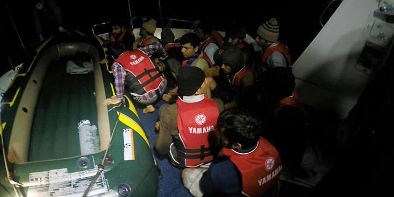 Ege'de göçmen operasyonu: 3 günde 962 kişi gözaltında!