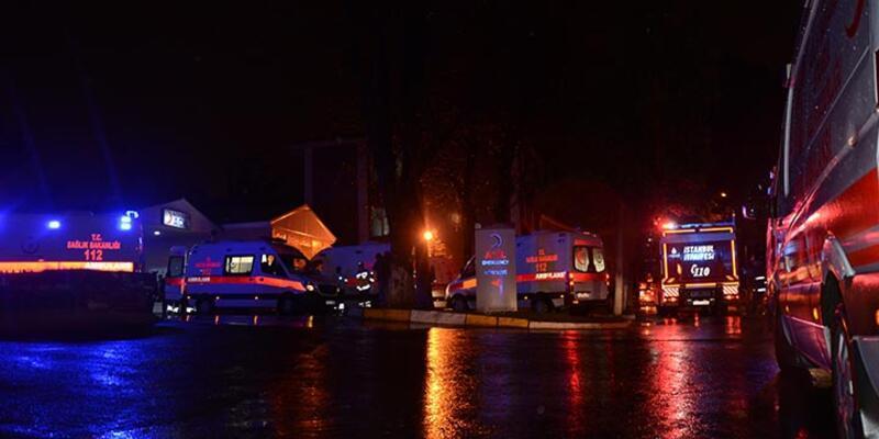 Bakırköy Ruh ve Sinir Hastalıkları Hastanesinde yangın