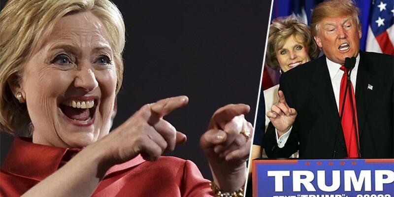 Nevada'da Hillary Clinton, Güney Carolina'da Donald Trump galip geldi