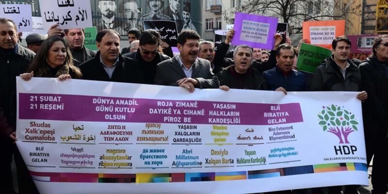 """HDP ve HDKden """"21 Şubat Dünya Anadil Günü"""" açıklaması"""