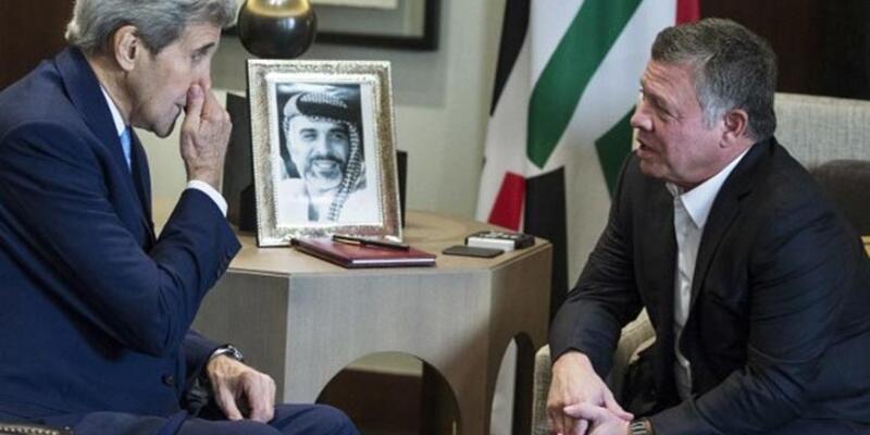 Kerry Ürdün'de Filistin sorununu da ele aldı