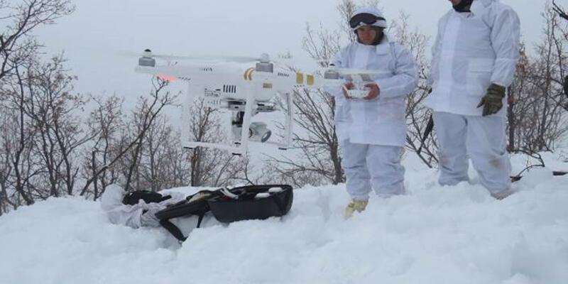 "Komandodan ""drone""lu operasyon"