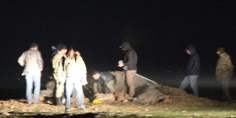 PYD'den PKK'lılara saman balyalarıyla cephane