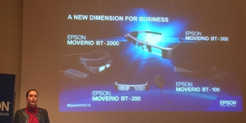 İnsanların hayatını kolaylaştırmaya çalışıyor: Moverio BT-300