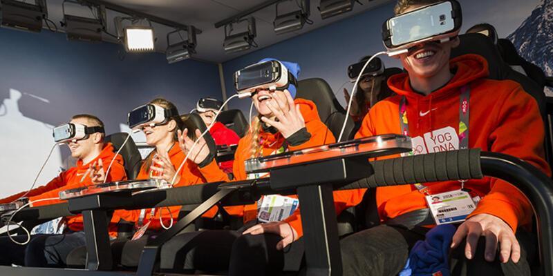 Olimpiyat açılışı sanal gerçeklikle canlı yayınlandı