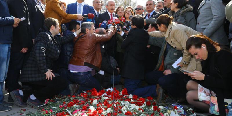 Kılıçdaroğlu patlama yerine karanfil bıraktı