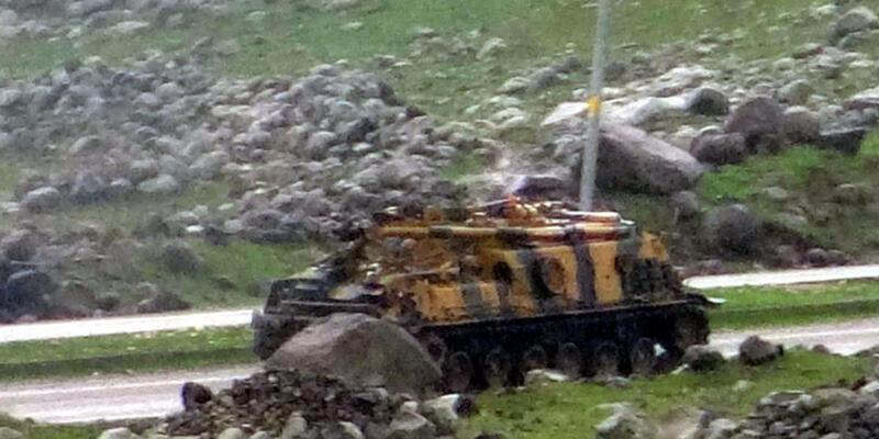 İdil'de PKK'ya hava operasyonu