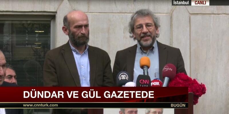Can Dündar ve Erdem Gül'den açıklama