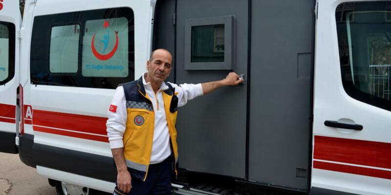 Diyarbakır'da zırhlı ambulans hizmete girdi