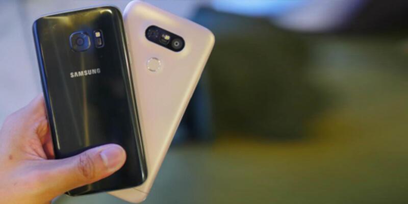 LG G5 ve Galaxy S7 performans testi sonuçları!