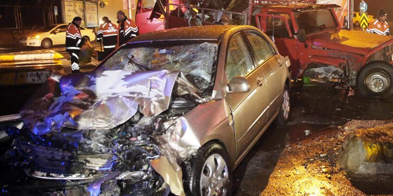 Sarıyer'de trafik kazası: 1 kişi öldü 2 kişi yaralandı