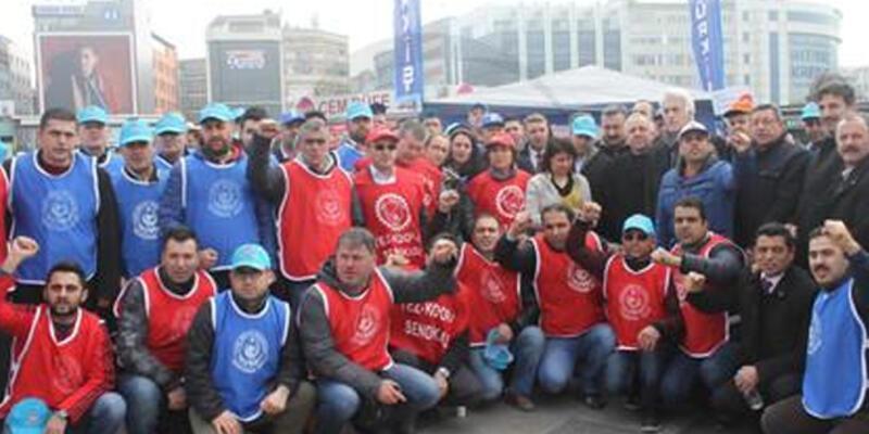 """""""Kiralık işçi"""" yasasına karşı TÜRK-İŞ'ten imza kampanyası"""