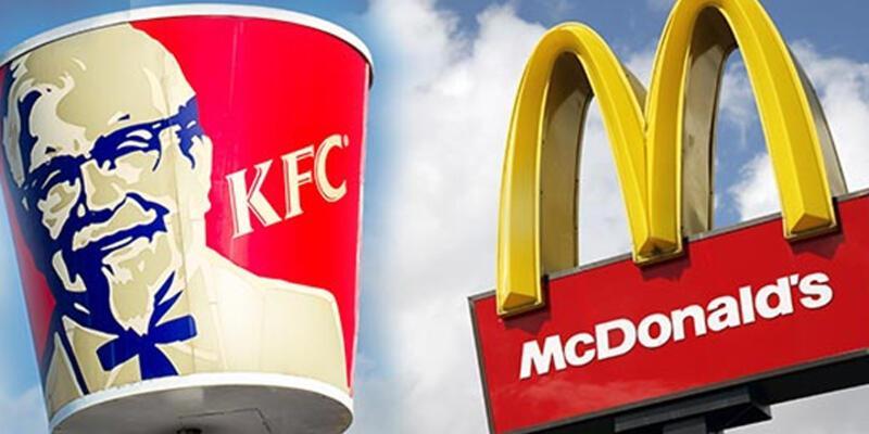 McDonald's ve KFC'de 18 yaş yasağı