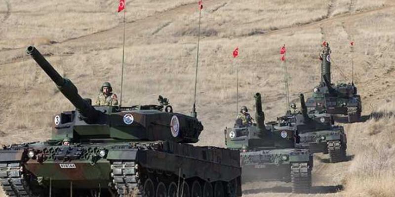 Türk tankları IŞİD hedeflerini vurdu