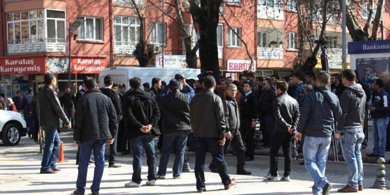Çankırı'daki 8 Mart eyleminde gerginlik