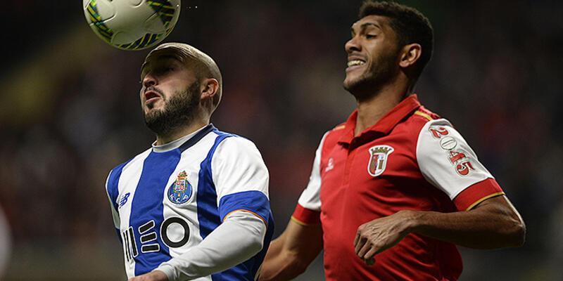 Braga Porto'yu devirdi: 3-1