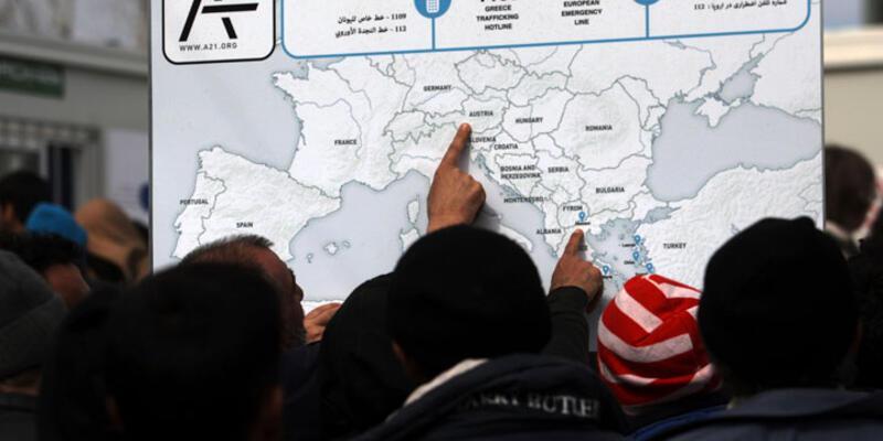 """Rus basını: """"Balkan rotası öldü, yaşasın Şengen"""""""