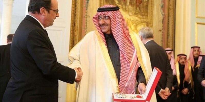 Fransa'dan Suudi Prens'e ''onur nişanı''