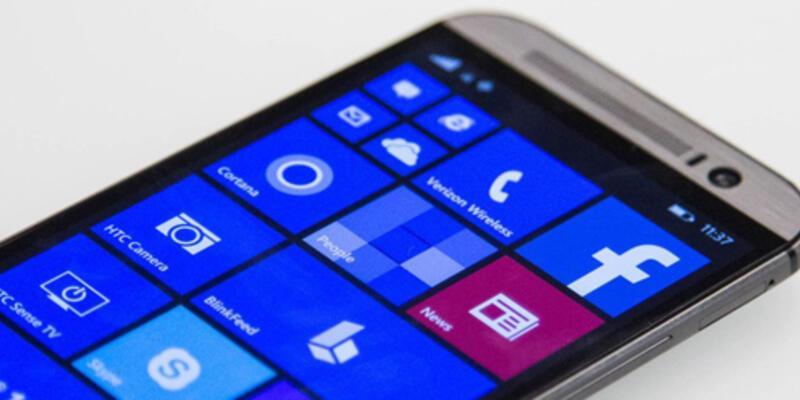 HTC 10 Windows 10 ile gelmeyecek!