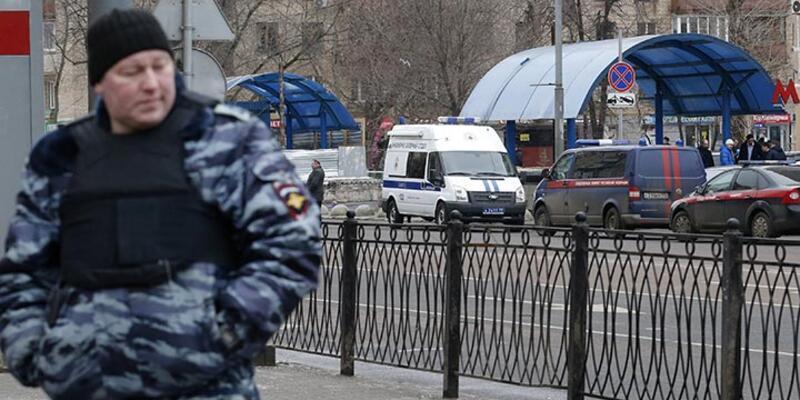 Moskova'da pazar yerinde bomba alarmı