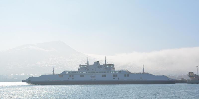 Türkiye'nin en büyük feribotları hizmete girmek için gün sayıyor