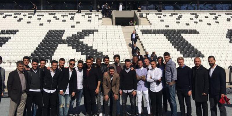 Beşiktaş Vodafone Arena'ya ayak bastı