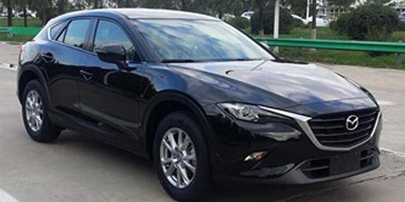 Yeni Mazda CX-4 görüntülendi
