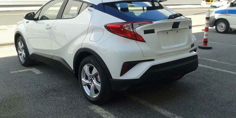 Toyota C-HR yakalandı