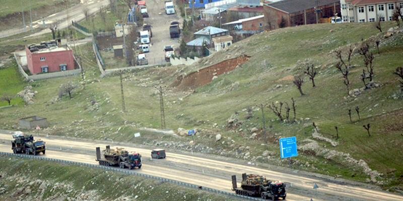 Beklenen operasyon öncesi Şırnak'a zırhlı araç takviyesi