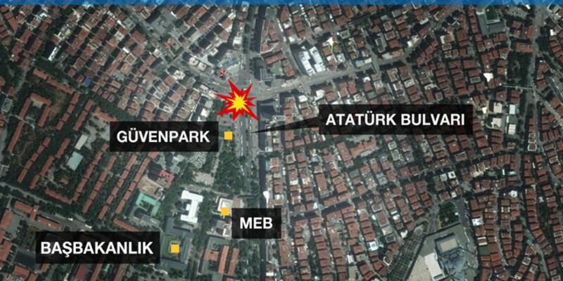 Ankara Kızılay'da terör saldırısı