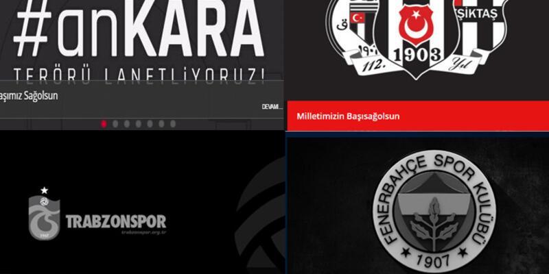 Spor dünyası Ankara saldırısını kınadı