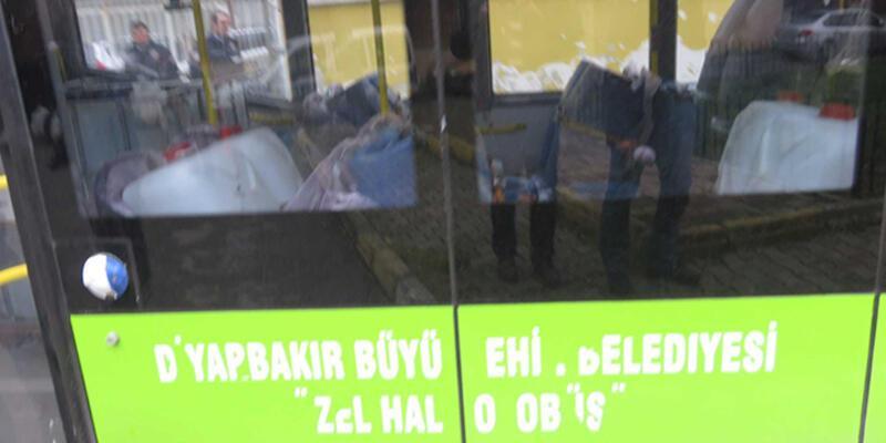 İstanbul'da bidon dolu halk otobüsü alarmı