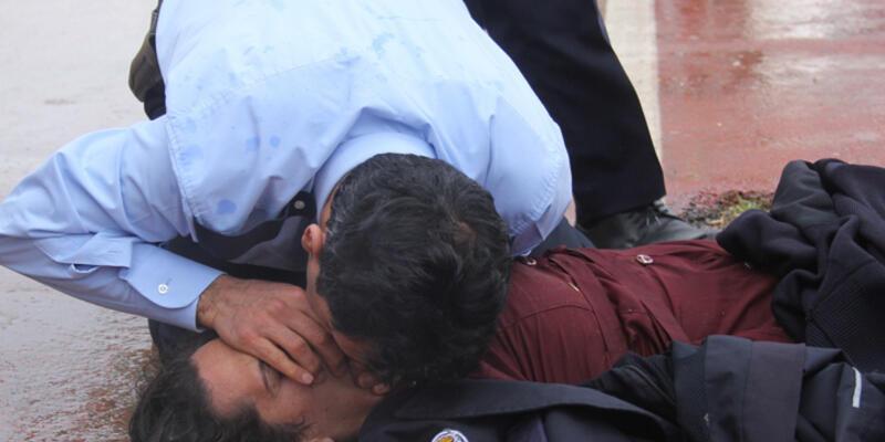 Adana'da ölmek isteyen kadını komiser hayata döndürdü