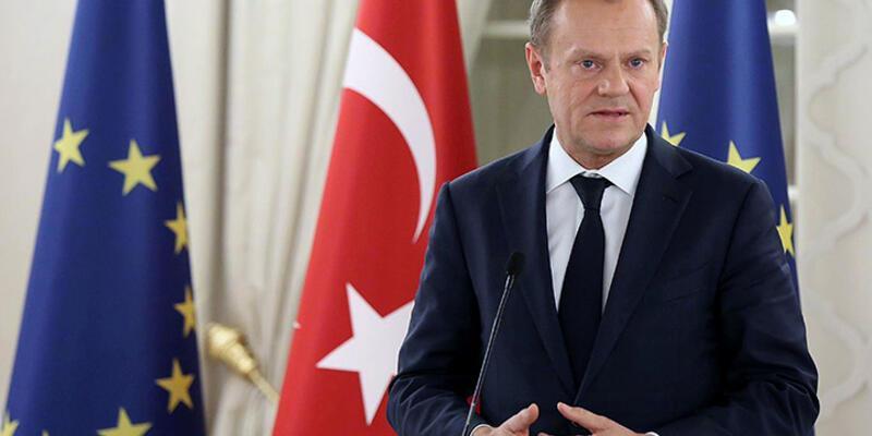 """AB Konseyi Başkanı Tusk: """"Amaç Türklerin de kabul edebileceği bir anlaşma"""""""