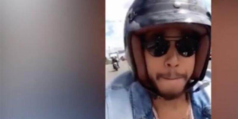 Lewis Hamilton'u çektiği selfie yakıyordu!