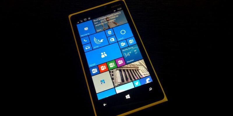 Eski telefonlar Windows 10 Mobile ile buluştu