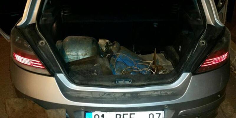 Hükümet konağı yakınlarında bomba yüklü araç yakalandı