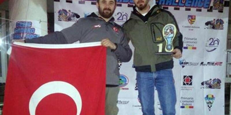 Enduro şampiyonasında birincilik Türk sporcunun