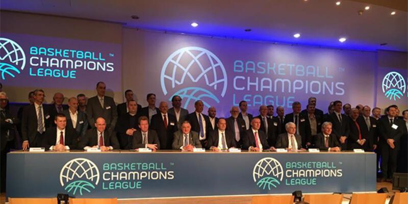 Basketbol Şampiyonlar Ligi tanıtıldı
