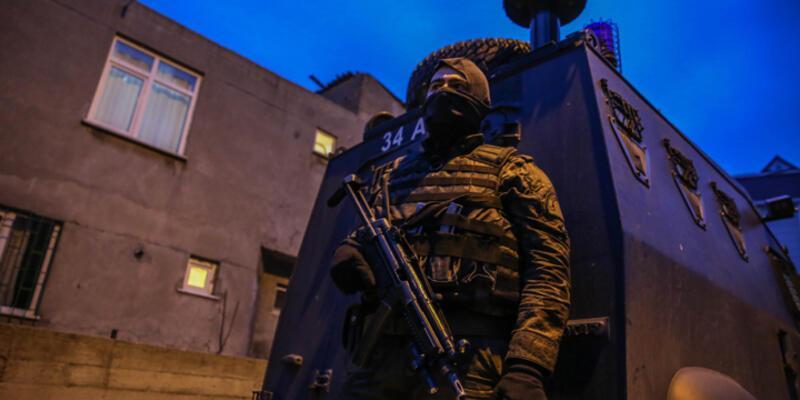 Büyükçekmece'de terör operasyonu