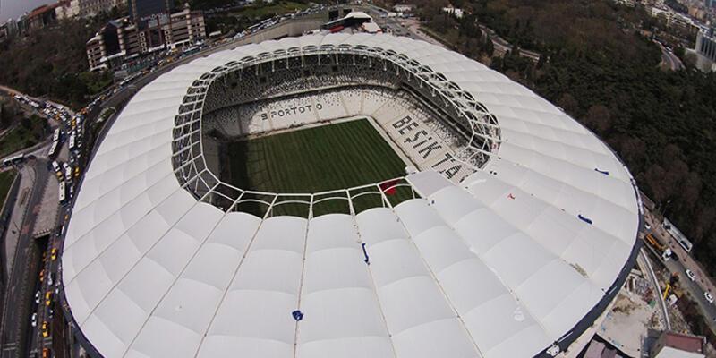 Vodafone Arena'nın çimleri tamam