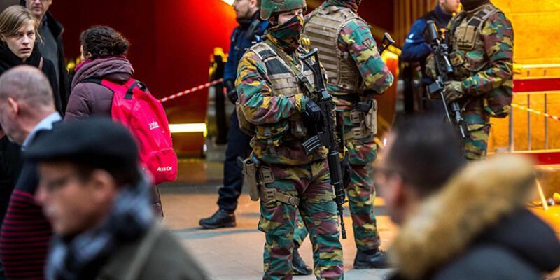 Belçika'da güvenlik seviyesi düşürüldü