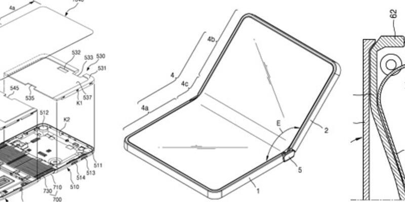 Samsung'dan katlanabilir telefon patenti!