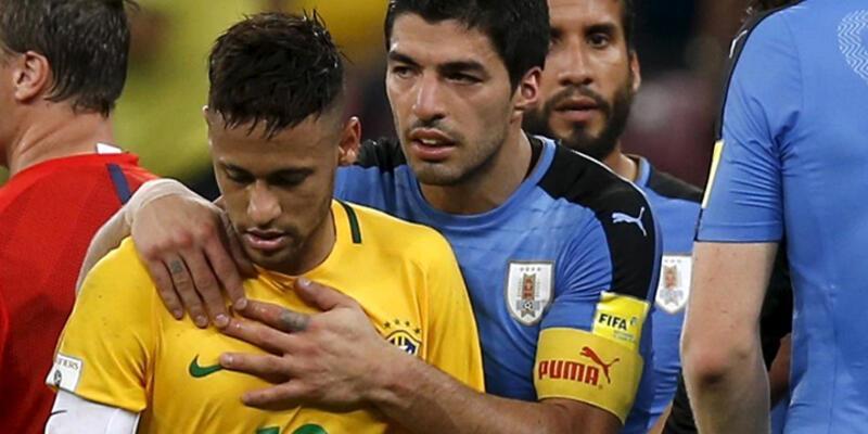 Muslera'lı Uruguay Brezilya karşısında 2-0'dan döndü