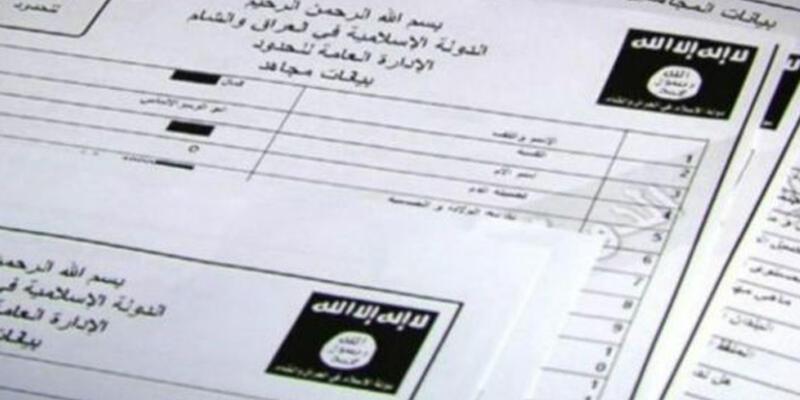 IŞİD belgelerinde Türkler