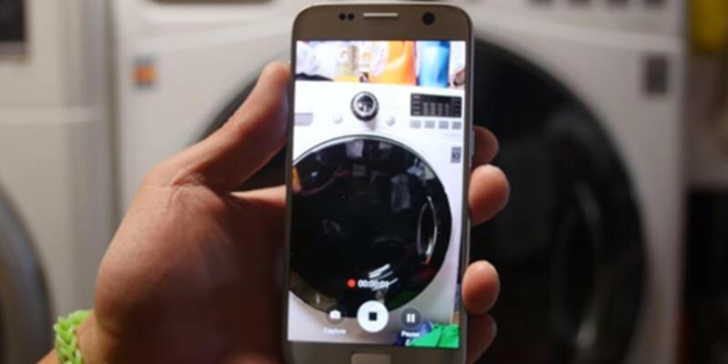 Samsung Galaxy S7 çamaşır makinesine atılırsa