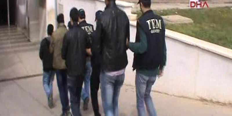 Gaziantep'te saldırı hazırlığında 6 IŞİD'li yakalandı