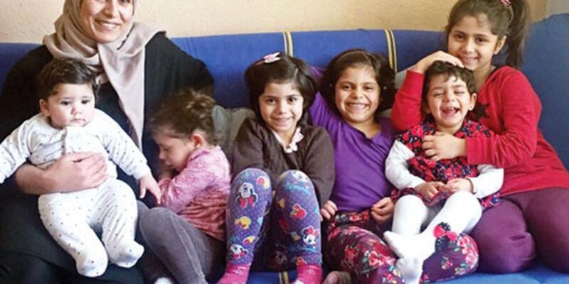İzmir'de yaşayan Suriyeli kadın 6 çocuğuyla Kanada'ya kabul edildi
