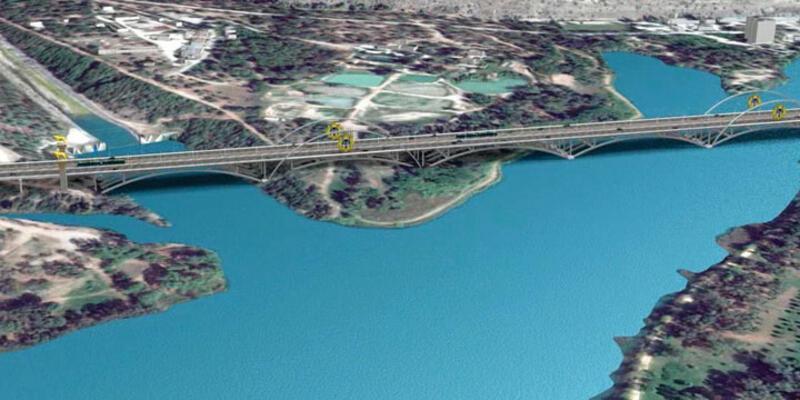 Devlet Bahçeli Köprüsü Türkiye'nin en uzun 4'üncü köprüsü olacak