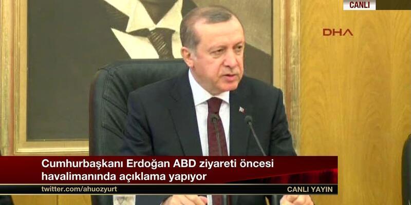 """Erdoğan: """"Kara paranın babaları Pensilvanya'da oturuyor"""""""
